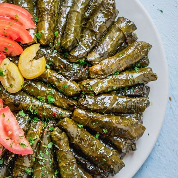 Vegetarian Stuffed Grape Leaves Food Fam Recipes
